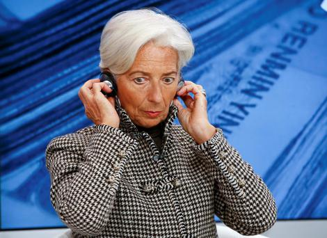 Christine Lagarde, Managing Director, International Monetary Fund (IMF). Photo: Reuters