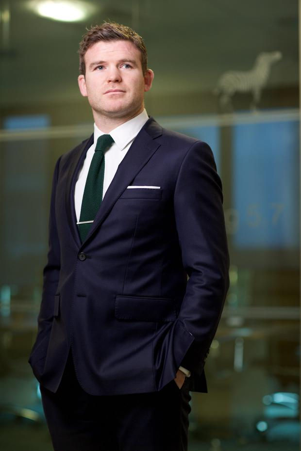 Gordon D'Arcy has joined Investec as an investment manager in Dublin. Photo: Patrick Bolger/Bloomberg