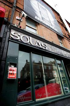 The Solas Bar at Wexford Street
