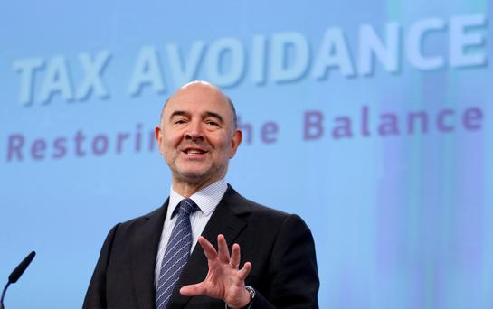 European Economic and Financial Affairs Commissioner Pierre Moscovici. Photo: Reuters