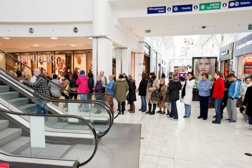 Total gift card sales grew by 9.6pc to €2.8m at Dublin's Liffey Valley shopping centre