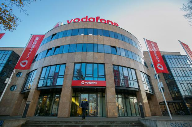 Vodafone shares dropped 1pc to 223.10 pence at 2.10pm yesterday in London, after earlier rising as much as 3.4pc. Photo: Krisztian Bocsi/Bloomberg