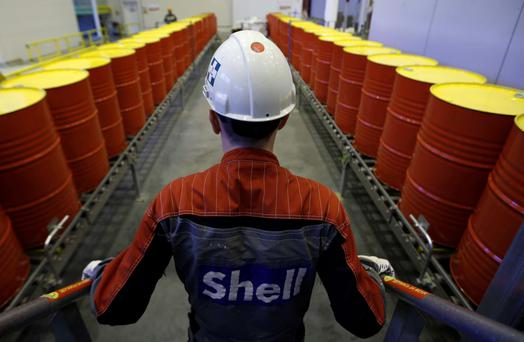 Shell owns a 45pc stake in the Corrib field. Photo: Reuters