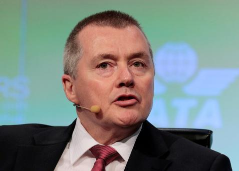 IAG chief Willie Walsh. Photo: Reuters