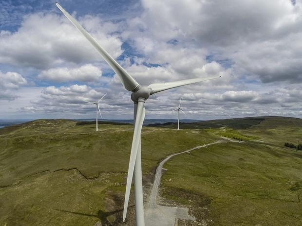 Gaelectric owns 13 windfarms in Northern Ireland and nine in the Republic. Photo: Keith Arkins
