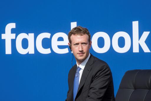 Mark Zuckerberg, chief executive officer of Facebook. Photo: Bloomberg