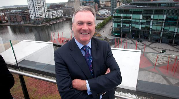 John McCann is stepping down as chief executive of Wireless. Photo: Gareth Chaney Collins