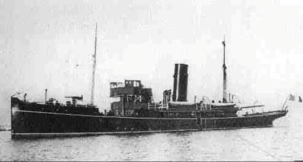 UP AND DOWN THE LIFFEY: The Helga gunboat was able to shell rebels with impunity