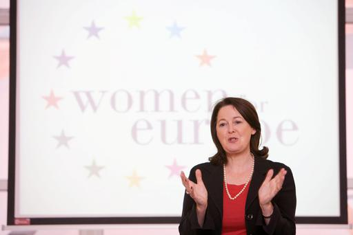 Margaret Sweeney of Women for Europe (and Chief Executive of Postbank)