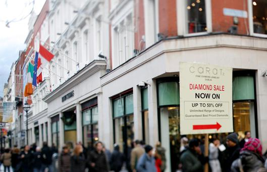 Retail sales for the month described as 'stellar'. Photo: Bloomberg