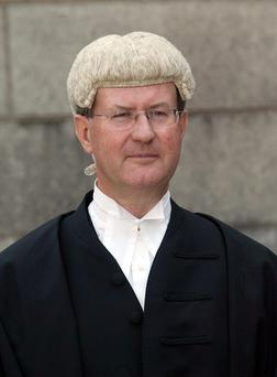 The matter is before Mr Justice Brian McGovern in the Commercial Court. Photo: Ronan Quinlan / Collins
