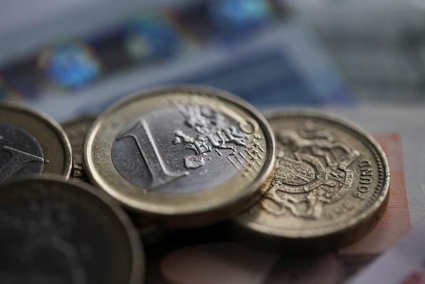The pound is the worst-performing Group-of-10 currency this year, dropping about 4pc versus the dollar. Photo: Bloomberg