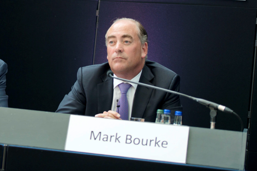 AIB's chief financial officer, Mark Bourke