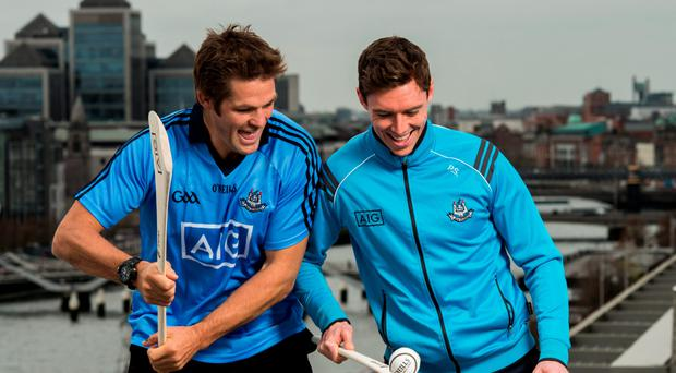 All Black legend and AIG ambassador Richie McCaw and Dublin hurler Paul Schutte were in the IFSC to help promote AIG Insurance's Telematics car insurance. The product, aimed at 21-34 year olds, is designed to encourage and reward safe driving