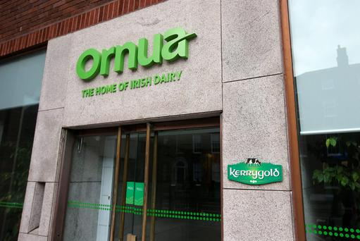 The Ornua office on Dublin's Mount Street. Photo: Damien Eagers