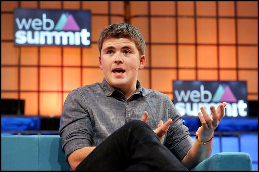 John Collison from Stripe at the Dublin Web Summit