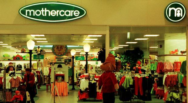 Mothercare operates as a franchise in Ireland