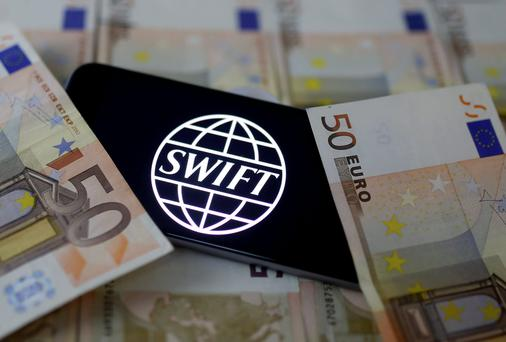 Billions of euro are transferred each day under Swift system