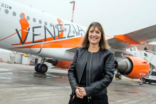 Carolyn McCall, chief executive officer of Ryanair rival EasyJet