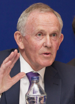Leslie Buckley, chairman of INM, will be chairman of CTI Global Photo: Mark Condren