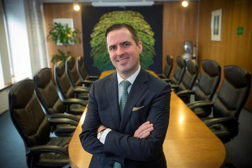 IDA chief executive Martin Shahahan has discussed Brexit with financial firms. Photo: Mark Condren