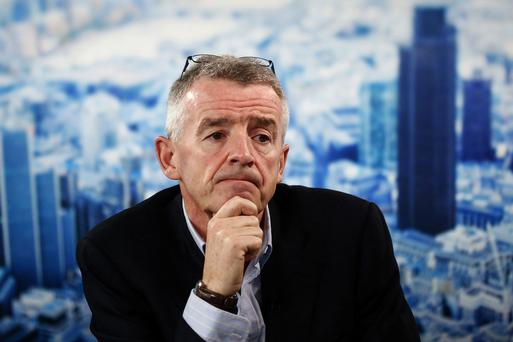 Mr O'Leary and other supporters of Norwegian, including Fáilte Ireland chairman Michael Cawley, have urged US politicians to back the airline's permit request (Picture: Bloomberg)