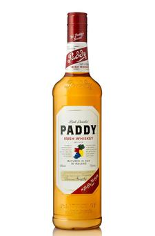 Paddy Irish Whiskey sells around 200,000 nine-litre cases across 28 countries every year