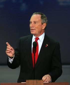 Signatory Michael Bloomberg. Photo: Bloomberg