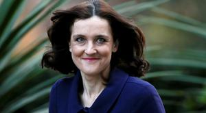Britain's Northern Ireland Secretary, Theresa Villiers