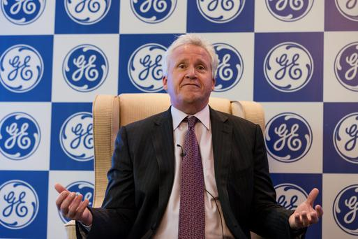 Jeffrey Immelt, chief executive officer of General Electric.