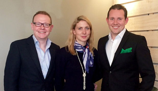 James Loftus, Sarah Byrne and Colin Saunders are the brains behind Open For Vintage