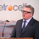 Former Petroceltic chief executive Brian O Cathain, speaking at the explorer's AGM last year. Photo: Damien Eagers