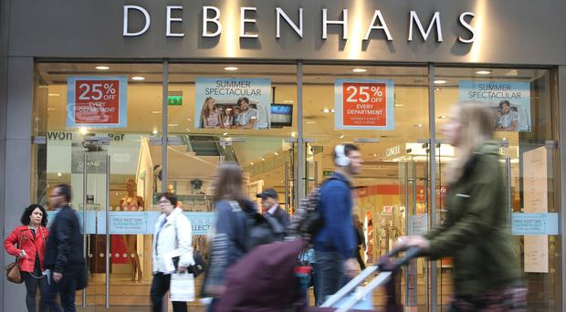Debenhams store on Henry Street