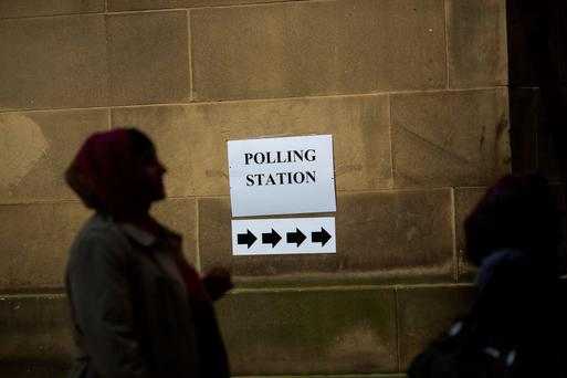 Confidence dipped sharply before Britons went to polls. Photo: Bloomberg