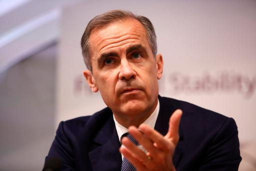 Bank of England governor Mark Carney. Photo: Bloomberg
