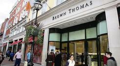 Brown Thomas is on the hunt for Arabic-speaking staff. Photo: Mark Condren