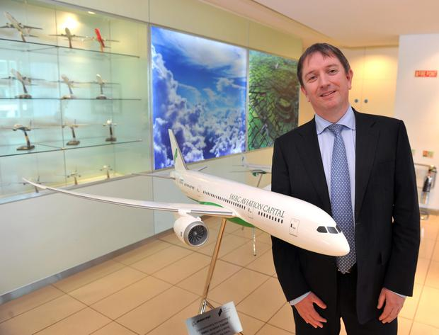 Peter Barrett, chief executive of SMBC Aviation
