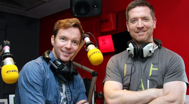Presenters Dermot and Dave on Today FM, have been shortlisted for the PPI awards