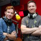 Presenters Dermot and Dave on Today FM, one of the radio stations which will have the new digital audio offering