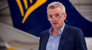 Michael O'Leary of Ryanair, down 6pc last week Picture: Stefan Rousseau/PA Wire