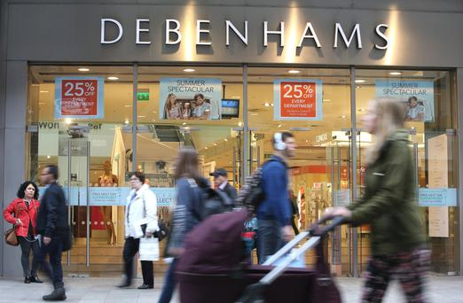 Debenhams in Henry Street, Dublin. Photo: Damien Eagers