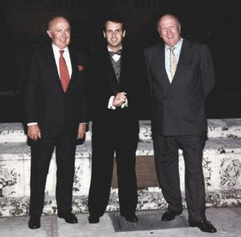 Michael, Ian and Nigel O'Flaherty