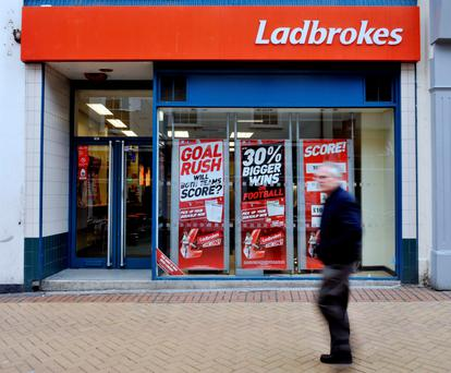 Ladbrokes (Stock photo) Photo: PA