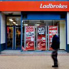 Ladbrokes Photo: PA
