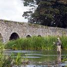 Fly fishing in Ireland