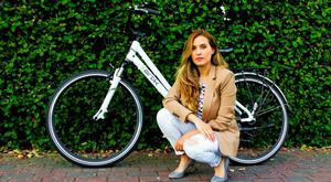 'I came to Ireland a few years ago to learn English in advance of a trip to the US – and never left,' says Annie Aragón, co-founder of Artik Bikes