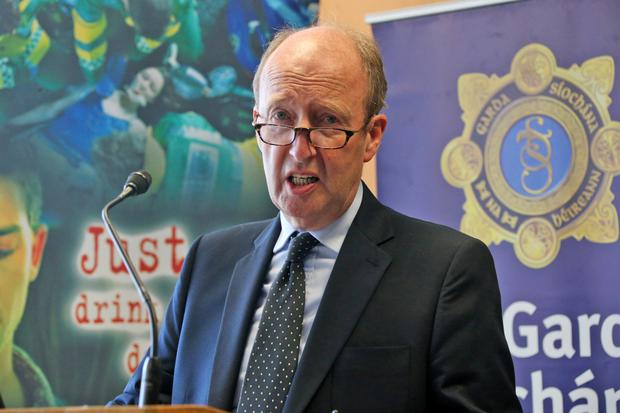 Transport Minister Shane Ross was breathalysed on Friday night by gardai as part of a 72-hour bank holiday road-safety blitz following the deaths of 13 people since last Sunday. Photo: Collins