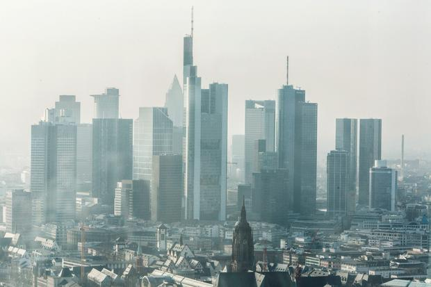 Dublin has less office space and higher commercial rents than Frankfurt, pictured, think tank argues
