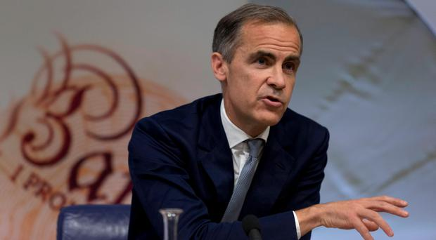 Bank of England governor Mark Carney has said he won't consider a negative interest rate to boost the British economy