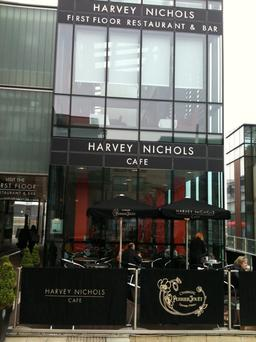 The restaurant at Harvey Nichols, Dundrum